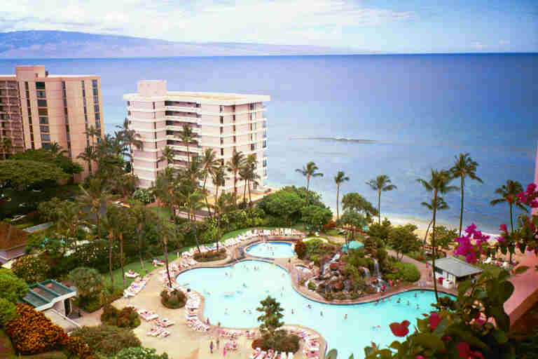 Embassy Suites On Kaanapali Beach Maui Hi